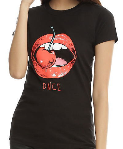 DNCE Cherry Mouth ガールズ Tシャツ