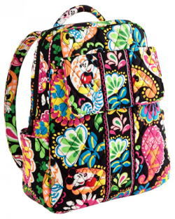 Midnight with Mickey Backpack Vera Bradley