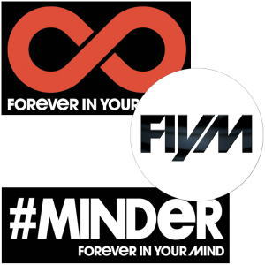 Forever In Your Mind ステッカー3枚セット